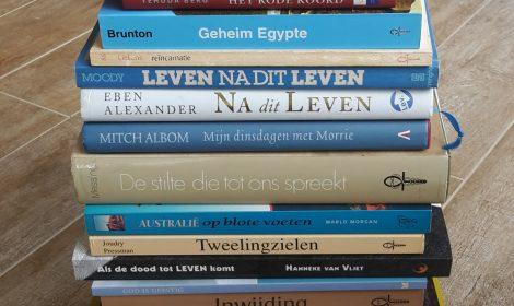 Boekenlijst door de jaren heen